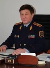 Начальник Департамента собственной безопасности МВД Республики Казахстан Бижигитов Осман-Рустамбек Байгенженович