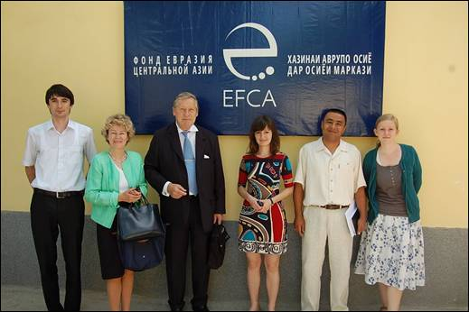 EFCA staff hosts Dr