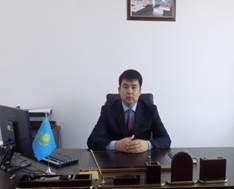 Заместитель акима Исатайского района